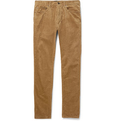 Beams Plus Slim-Fit Cotton-Corduroy Trousers