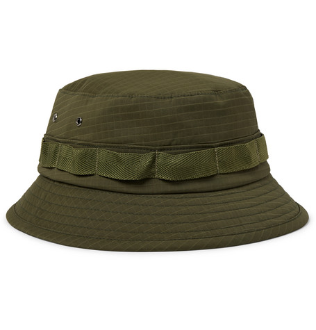8f6a691c0a7 Beams Plus - Webbing-Trimmed Ripstop Bucket Hat