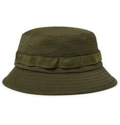 Beams Plus Webbing-Trimmed Ripstop Bucket Hat