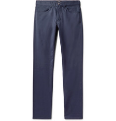 Theory Haydin Slim-Fit Stretch Cotton-Twill Trousers