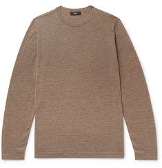 Theory - Lievos Slim-Fit Mélange Cashmere Sweater