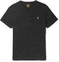 Polo Ralph Lauren - Slim-Fit Mélange Cotton-Jersey T-Shirt