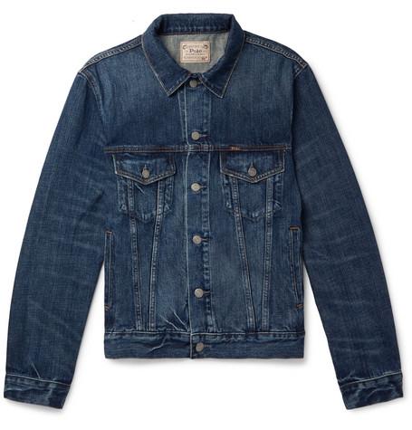 Denim Trucker Jacket by Polo Ralph Lauren