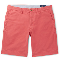 9c5cb5669cf Polo Ralph Lauren Slim-Fit Cotton-Blend Twill Chino Shorts