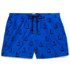 Paul Smith Mid-Length Embroidered Swim Shorts