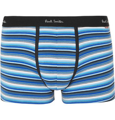 Paul Smith Striped Stretch-Cotton Boxer Briefs