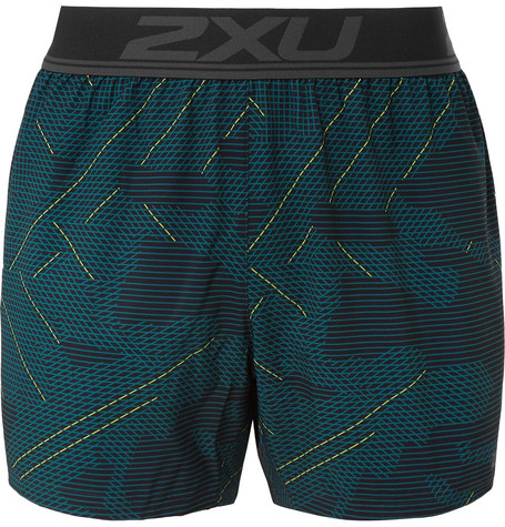 2XU - GHST Stretch Free Printed Running Shorts b95b85ccc