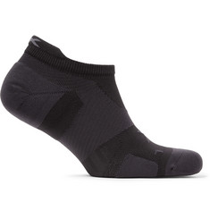 2XU Vectr Cushioned No-Show Stretch-Knit Socks