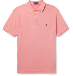 Polo Ralph Lauren - Slim-Fit Loopback Cotton-Jersey Polo Shirt