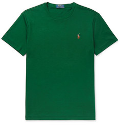 Polo Ralph Lauren Slim-Fit Pima Cotton-Jersey T-Shirt