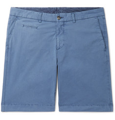 Altea Milano Cotton-Blend Shorts