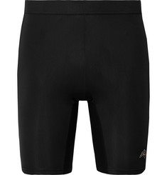 Tracksmith Reggie Stretch-Jersey Compression Shorts