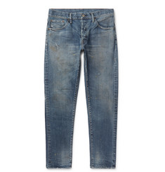 Fabric-Brand & Co Rake Slim-Fit Distressed Denim Jeans