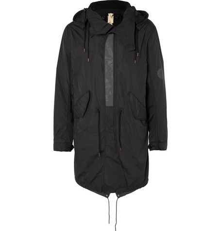Nylon Hooded Parka by Ten C