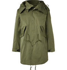 Ten C Original Japanese Jersey Hooded Parka