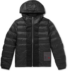 Ten C Quilted Nylon Hooded Down Liner