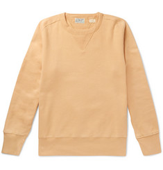 Levi's Vintage Clothing Bay Meadows Brushed Loopback Cotton-Jersey Sweatshirt