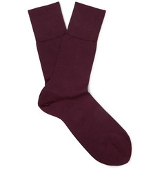 Falke Tiago Stretch-Cotton Blend Socks