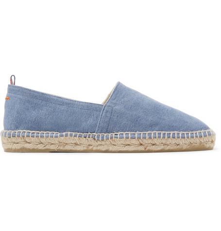 Castañer Shoes PABLO CANVAS ESPADRILLES - LIGHT BLUE