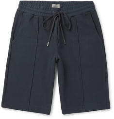 Hanro Bruno Stretch Cotton-Blend Piqué Drawstring Shorts