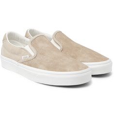 Vans OG Classic LX Brushed-Nubuck Slip-On Sneakers