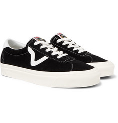 Vans Anaheim Factory UA Style 73 DX Leather-Trimmed Suede Sneakers