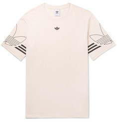 adidas Originals Outline Mélange Cotton-Jersey T-Shirt