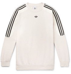adidas Originals Radkin Mélange Fleece-Back Cotton-Blend Jersey Sweatshirt