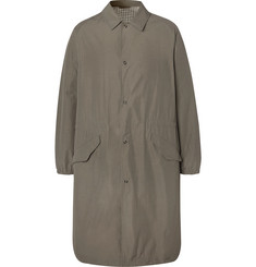 Camoshita Nylon Trench Coat