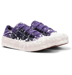 Needles Paint-Splattered Canvas Sneakers