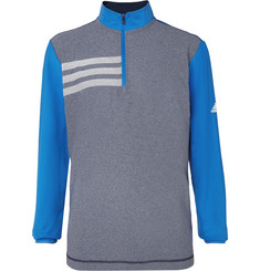 Adidas Golf Colour-Block Stretch-Jersey Half-Zip Golf Jacket