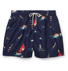 Polo Ralph Lauren - Mid-Length Printed Swim Shorts