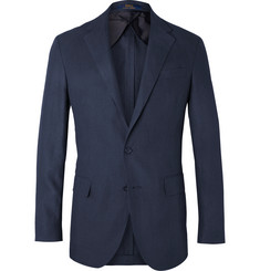 Polo Ralph Lauren Navy Morgan Slim-Fit Unstructured Linen Blazer