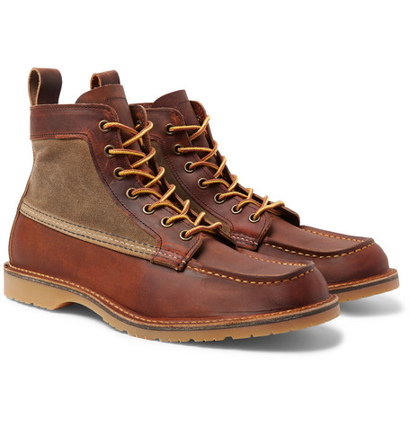 9138e8a797aa Red Wing Shoes - Wacouta Leather and Waxed-Cotton Boots