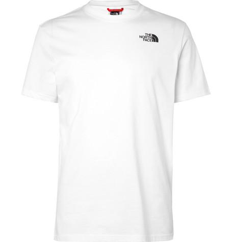 5a227d2b1 The North Face - Logo-Print Cotton-Jersey T-Shirt