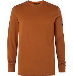 The North Face Fine 2 Logo-Appliquéd Cotton-Jersey Base Layer