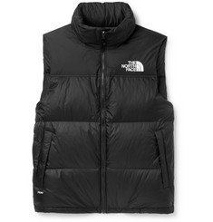 노스페이스 1996 레트로 눕시 조끼 The North Face 1996 Retro Nuptse Slim-Fit Quilted Shell Down Gilet,Black