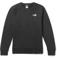 The North Face Logo-Print Fleece-Back Cotton-Jersey Sweatshirt