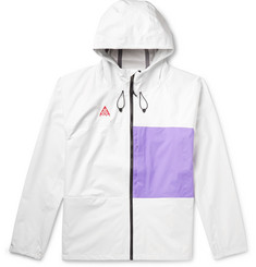 Nike ACG Packable Hooded Two-Tone Nylon Jacket