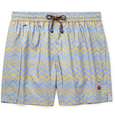 398ffc628b60ab Missoni - Mid-Length Printed Swim Shorts