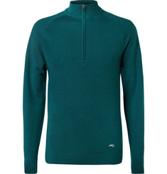 Kjus Golf Kulm Knitted Half-Zip Sweater
