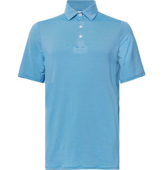 Kjus Golf - Soren Striped Stretch-Jersey Golf Polo Shirt