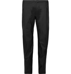 Arc'teryx Veilance Black Sequent Slim-Fit Cropped GORE-TEX Coated Nylon Trousers