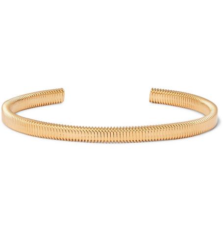 Thread Gold Plated Cuff by Miansai