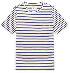 The Workers Club Striped Cotton-Jersey T-Shirt