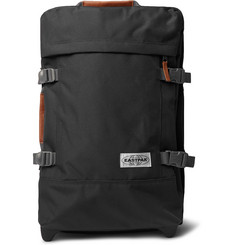 Eastpak - Tranverz S 51cm Leather-Trimmed Canvas Suitcase