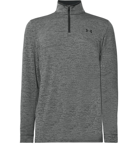 9278f3d099be52 Under Armour - Playoff 2.0 Mélange HeatGear Half-Zip Golf Top