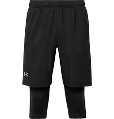 Under Armour Launch Slim-Fit SW 2-in-1 Running Shorts