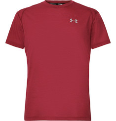 Under Armour Streaker Mesh-Panelled Heatgear Running T-Shirt