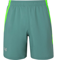 Under Armour - Launch Mesh-Panelled Shell Shorts